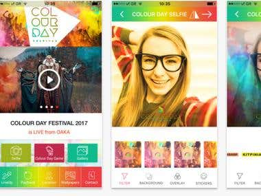 Color Day Event iOS/Android Application