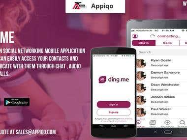 Ding Me - Audio/Video Call App