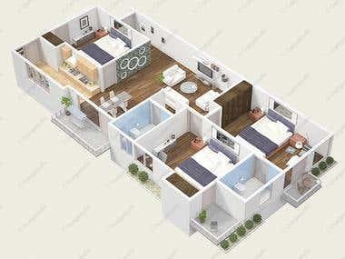 3d Architecture Floor Plans