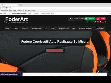 Magneto Car seat configurator site