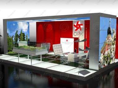 3D Fair Stand Design