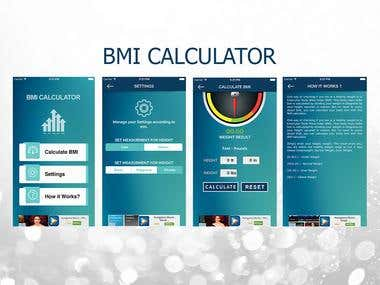 IOS app for BMI calculator