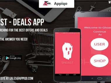 Ghoast App - Deals and Offer Application