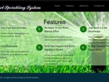 Smart Sprinkler Systems