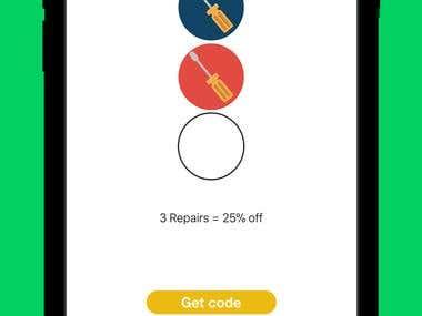 Smartphone Repairs App