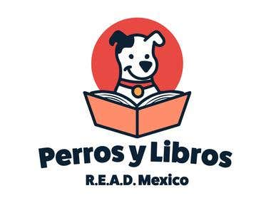 Logotype for Perros y Libros