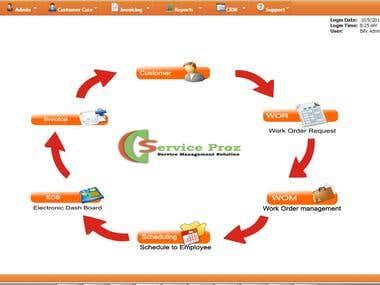Work Order Management System
