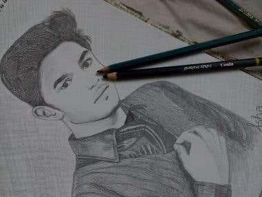 Portrait sketching