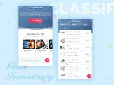 Classified App Design