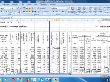 data entry from pdf to excel old satistics