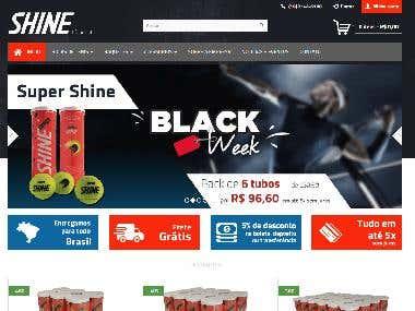 Loja Virtual Shine Tennis Brasil