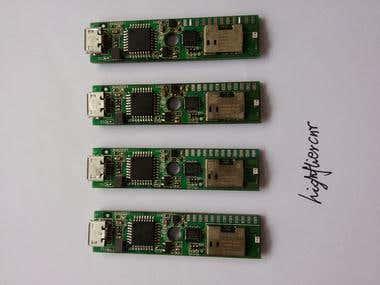 Atmega328 wifi+Accelerator