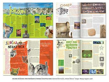 Teenage Magazine pages