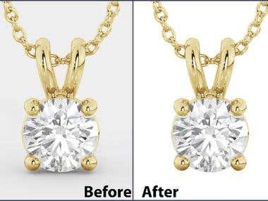 Jewellery Image Editing Service