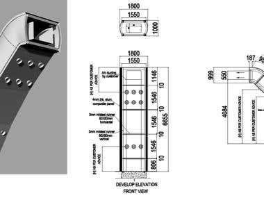 2D drawings/ 3D modeling