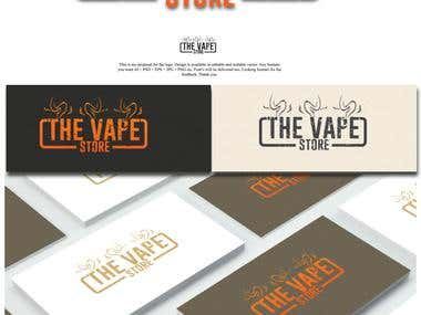 "LOGO FOR ""THE VAPE STORE"""