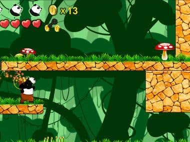 Unity3D Fighting Game - Panda Jack