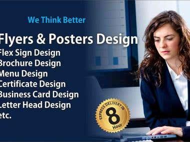 Flyers & poster design