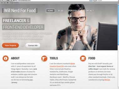 WordPress - Responsive Website Design