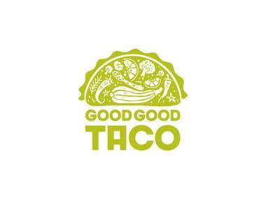 Logotype for the Good Good Taco restaurant
