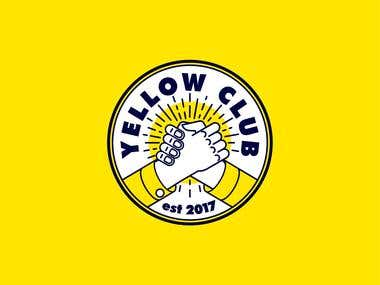 Logotype for the Yellow Club