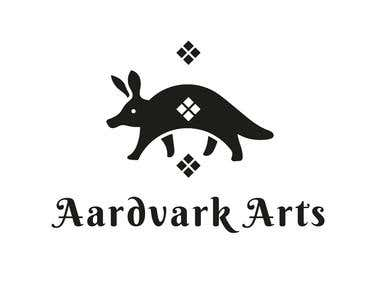 Logotype for Aardvark Arts
