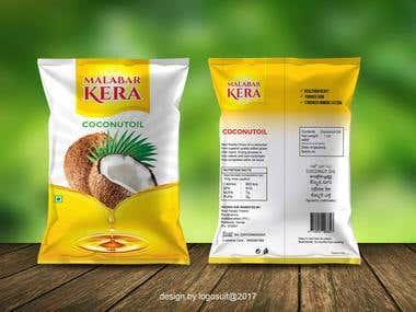 Malabar Kerala Coconut Oil packet