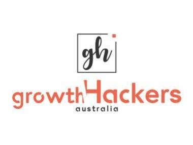 Growth Hackers logo design