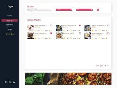 Recipes Web App