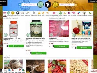 Ecommerce - Farmácia Manipulação / Empório Cerealista