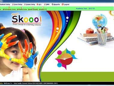 School management System (Desktop Apps)