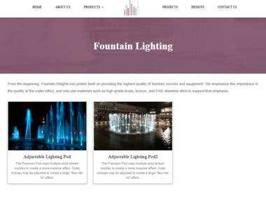 Fountain sales And Support