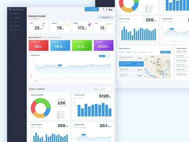 Dashboard design project