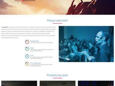 Website Becoach Brasil