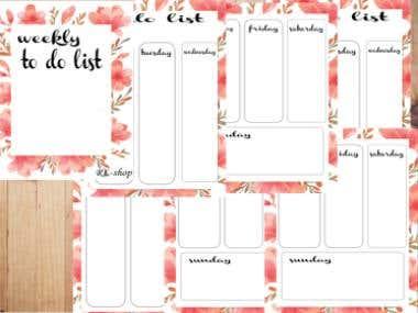 planner design