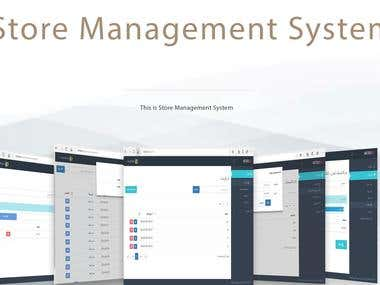 Store Management System - Website