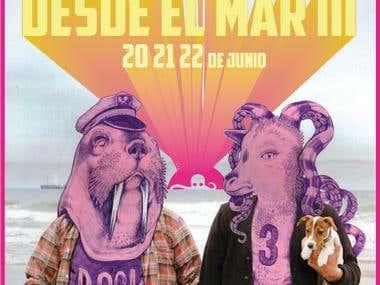 Poster Festival desde el Mar