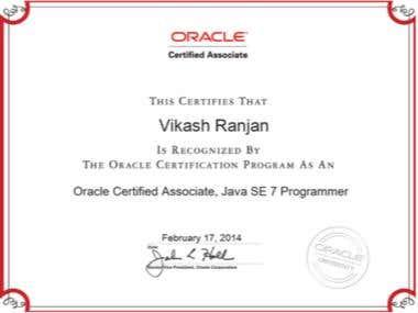 Oracle certified java Associate 7