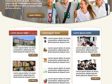 Educational Institute Website Design