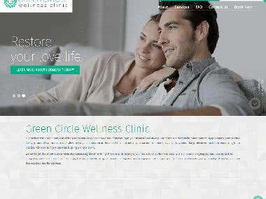Green circle wellness