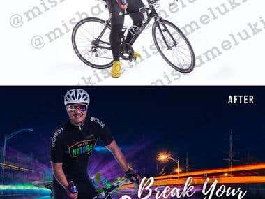 Poster design + Photo Manipulation