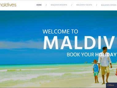 Elite Maldives Website Design and Development