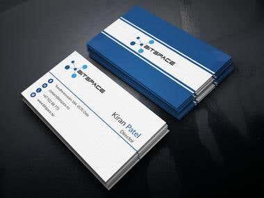 Bitspace Business Card Design