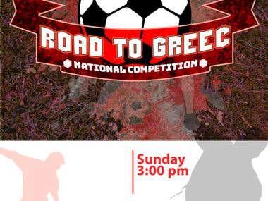 Foot Ball Event Banner