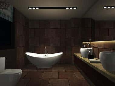 Unity 3D Bathroom VR for Android