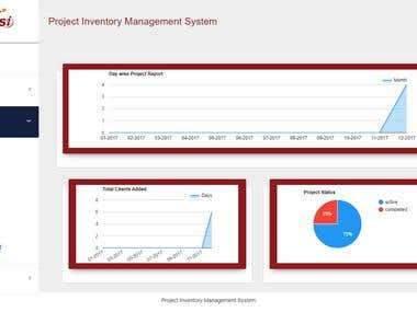 PROJECT INVENTORY MANAGEMENT SYSTEM