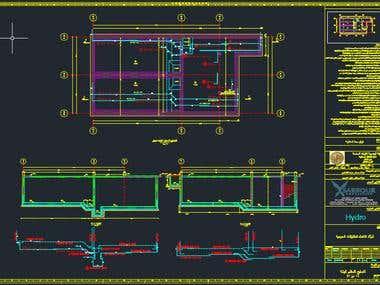 Reinforcement Detailing for Underground Tank 400 m3