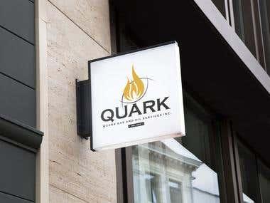 Logo for Quarkos - Gas and oil Company