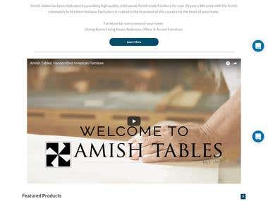 Amish Tables