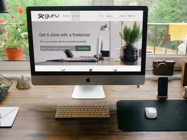 Freelancer web site design